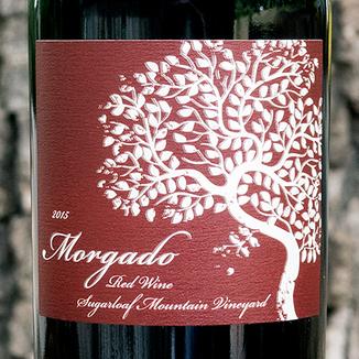 Morgado Cellars 2015 Sugarloaf Mountain Napa Valley Red 750ml Wine Label
