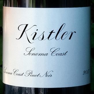 Kistler Vineyards 2017 Sonoma Coast Pinot Noir 750ml Wine Bottle