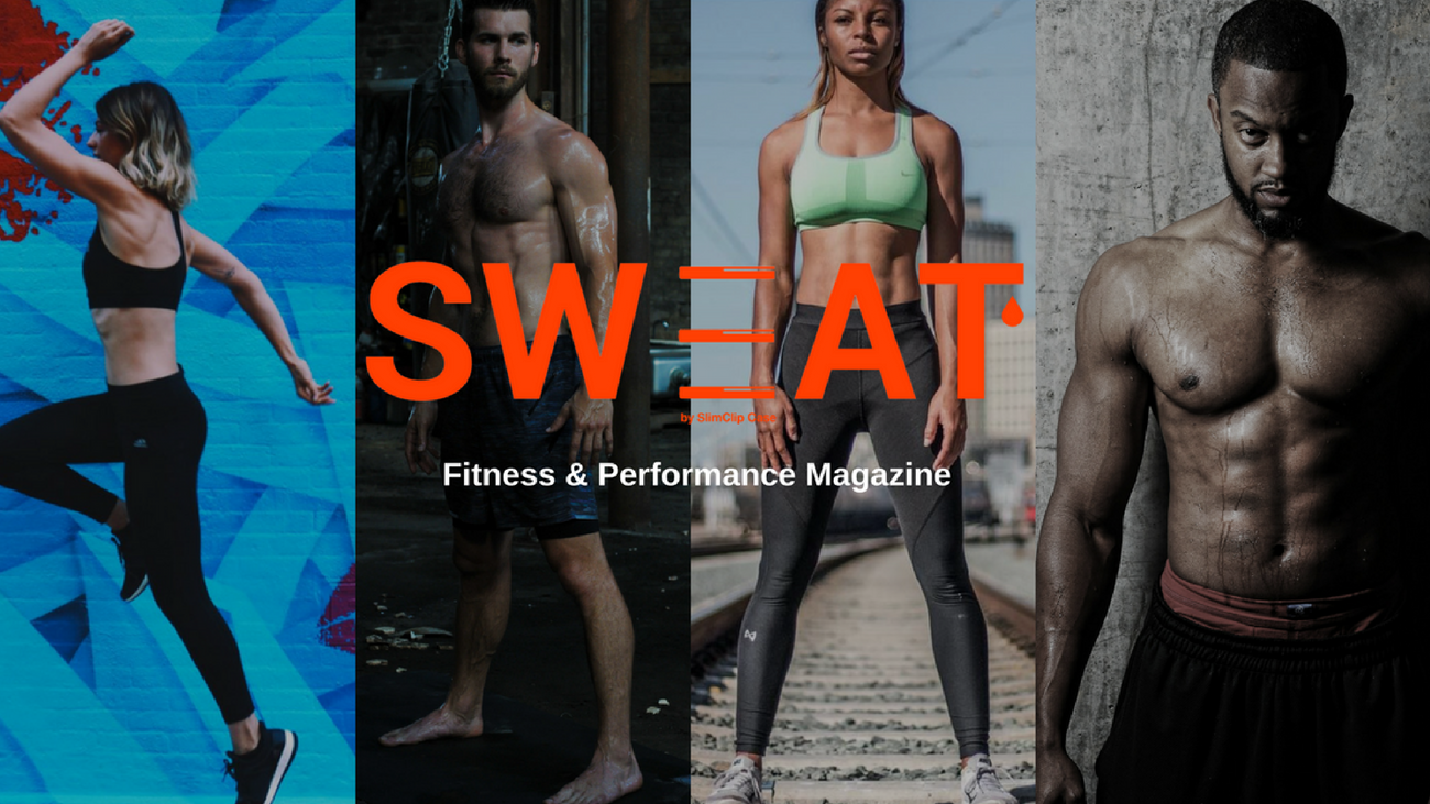 SWEAT Magazine by theWTFactory and SlimClip Case