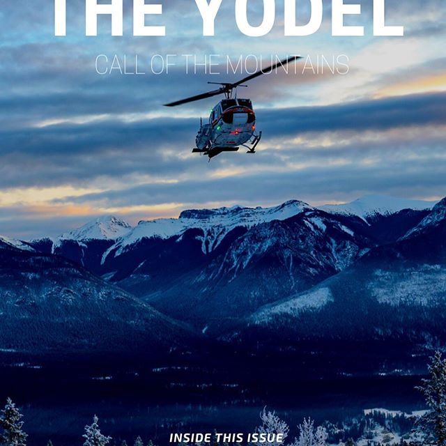 The Yodel is back tomorrow with The Secret of Stoke, how terrain gets decided, Rudi's rules for the backcountry and more. Winter won't be just a dream for long now! Link in our bio to get your copy.  @mountainmancole
