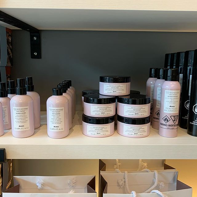 Davines Your Hair assistant help you with all the essentials for a perfect blow dry. From helping with heat protection to the perfect hair spray this line has you covered! We are offering 40% off this line now at both locations! Come and check out this awesome deal