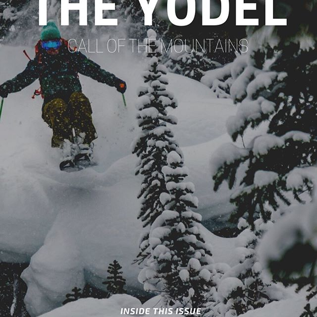The Yodel is on short final, arriving in inboxes everywhere later today! This time around... No Distractions: White Space and White Gold / When Do The Deepest Days Happen / 4 Ways BC Backcountry Earned Its Fame and more..... Link in bio to get on the list and get yours