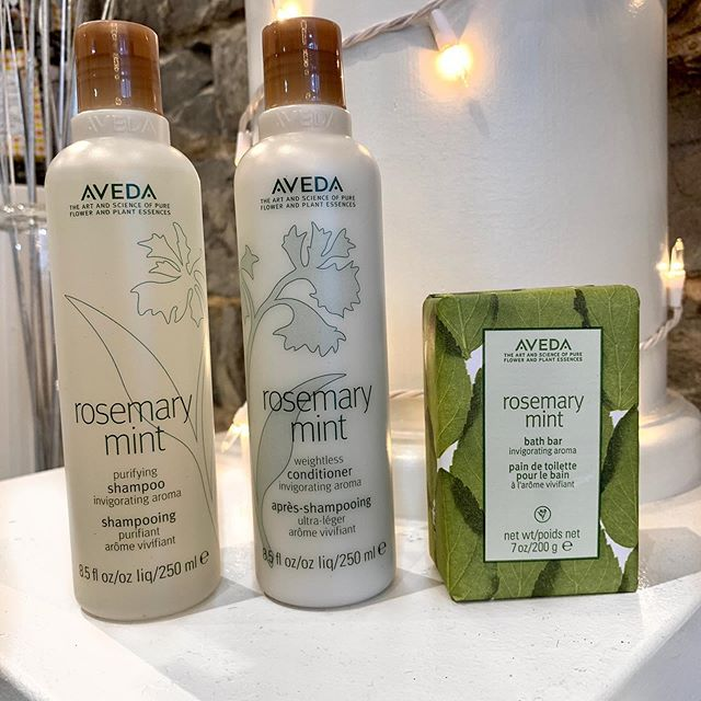For the seventh deal of Christmas, my stylist gave to me . . . 50% off Rosemary Mint Bath Bar with the purchase of Rosemary Mint Shampoo and Conditioner ($12 savings). (Limited time only, while supplies last.) • • •  #twelvedaysofsavings #twelvedaysofchristmas #jamesbrettboutique #downtownkingstonontario #ygksalon #ygk #kingstonontario #downtownkingstonontariobusiness #queensuniversity #stlawrencecollege