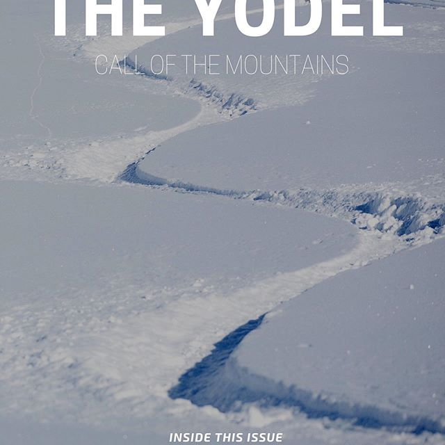 Do you hear that? The Yodel drops tomorrow with a story I've been waiting to tell for years..... Look Before You Leap / 2021 Rates & Promo / What Should I Pack for Heli-Skiing / Apres-Ski: Then and Now / Conditions Update and more... All the best stuff is found here first. Link in bio to get it!