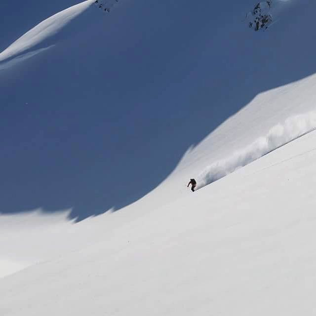 In the shadows of giants. #peekaboo #bcbackcountry