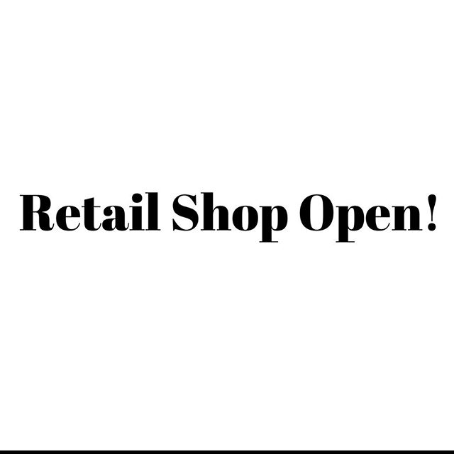 Our downtown retail store will be opened tomorrow from 12-3! Call now to leave a message for your order and we will have it all ready to be picked up tomorrow! • • • #supportlocalbusiness #shoplocal #jamesbrettdowntown #ygk #downtownkingston #kingstonontario #stlawrencecollege #queensuniversity