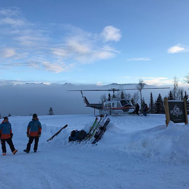 Shall we? #timefortakeoff #abovetheclouds #freshpowder @kickinghorsemtn