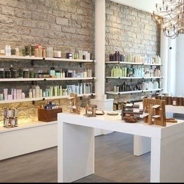 Check out this beautiful space! Our downtown retail boutique carries all your favourite hair and beauty products from Aveda, Davines, Depot and more. . Running low on products? . Send an email with your requests to jb@jamesbrettcoiffure.com . Currently we offer free local delivery right to your doorstep. Take advantage and stock up today! . Accepting e-transfer only at this time. . . . .  @reidsiemonsendesign #jamesbrett #jamesbrettcoiffure #jamesbrettboutique #ordernow #beautyboutique #beautysupply #beautyproducts #haircare #skincare #suncare #selfcare #hairandbeauty #makeup #wellness #wellbeing #knowwhatweremadeof #smellslikeaveda #sustainablebeauty #highend #naturallyderived #vegan #crueltyfree #localdelivery #kingston #downtownkingston #kingstonsalon #kingstonhairstylists #ygk #ygkstrong #ygkhairandbeauty  @aveda @avedacanada @davinesnorthamerica  @depot_maletools @sashajuan @sparitual @zoya @sensastone @youngliving @glee.jewelry  @jamesbrettwest @jamesbrettdowntown