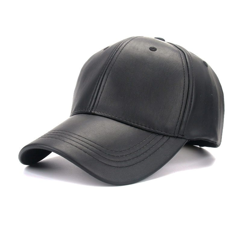 Black leather ballcap -  18.44 on AliExpress 3d50fe37df26