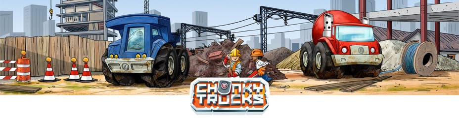 Chunky Trucks collection - Thingiverse