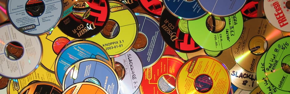 Repurposed CDs collection - Th...