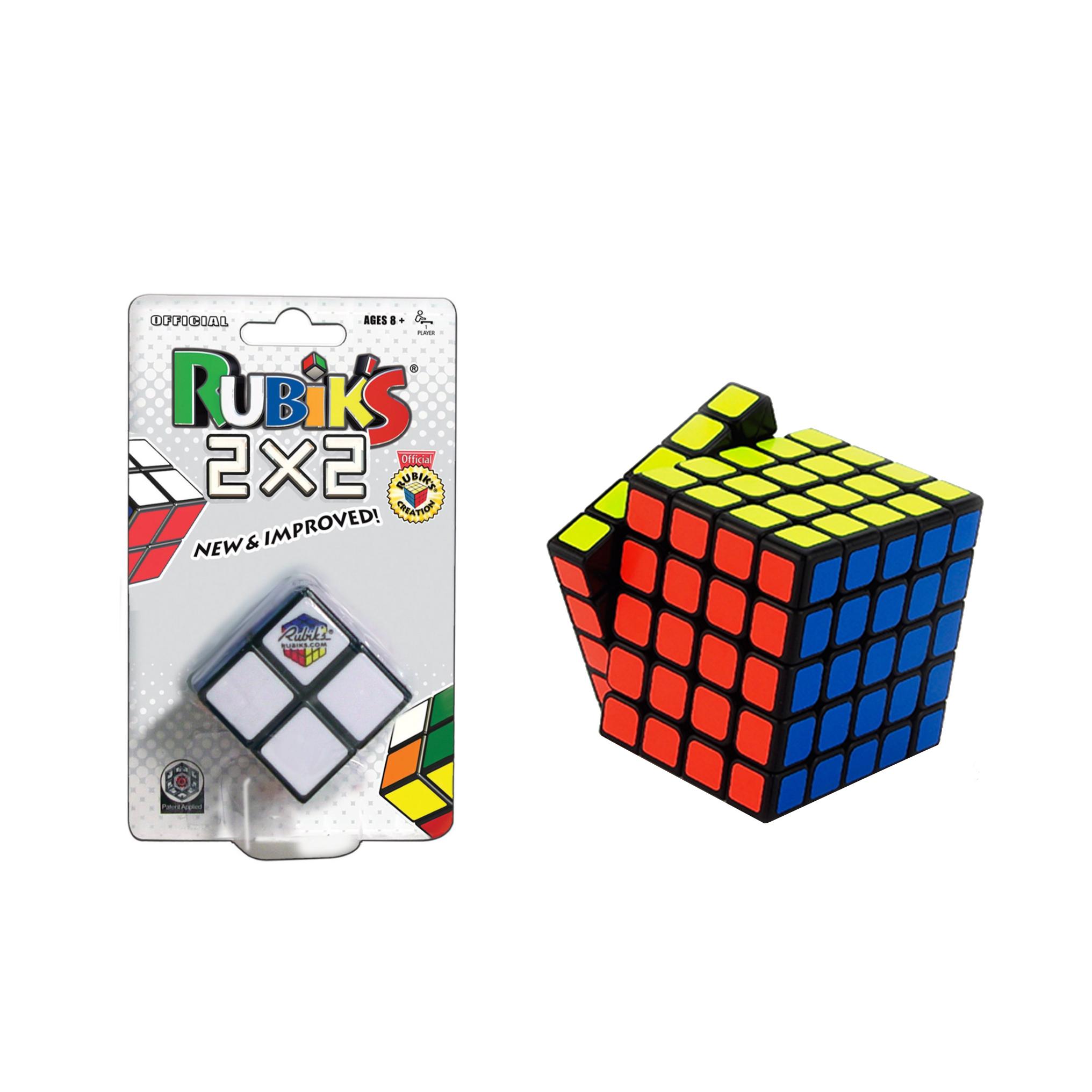 rubik 39 s 5x5 cube with rubik 39 s 2x2 cube ebay. Black Bedroom Furniture Sets. Home Design Ideas