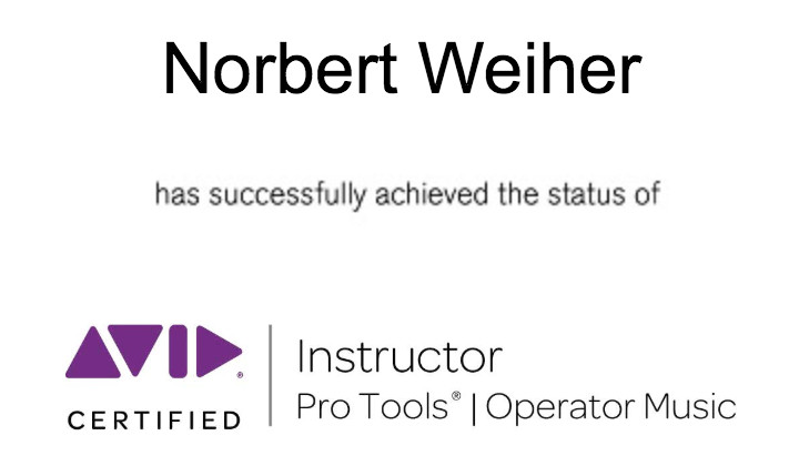 Seu instrutor é um Pro Tools Expert