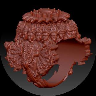 Vishnu Dashavatar Ring