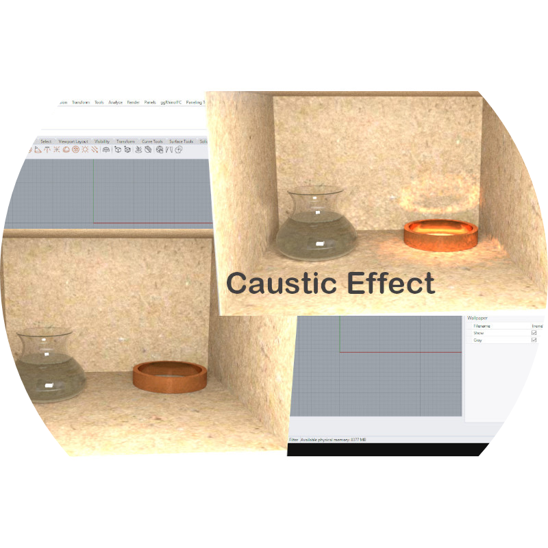 Caustic effects