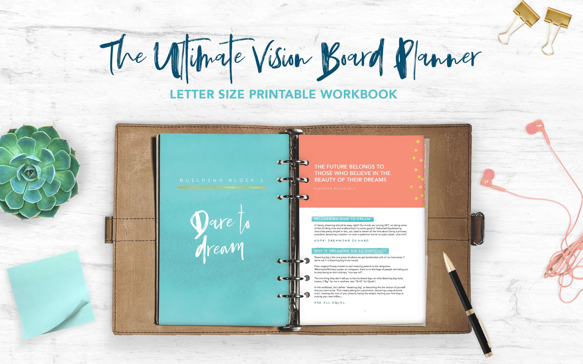 vision board planner