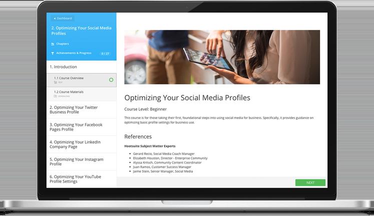 Social Marketing Certification