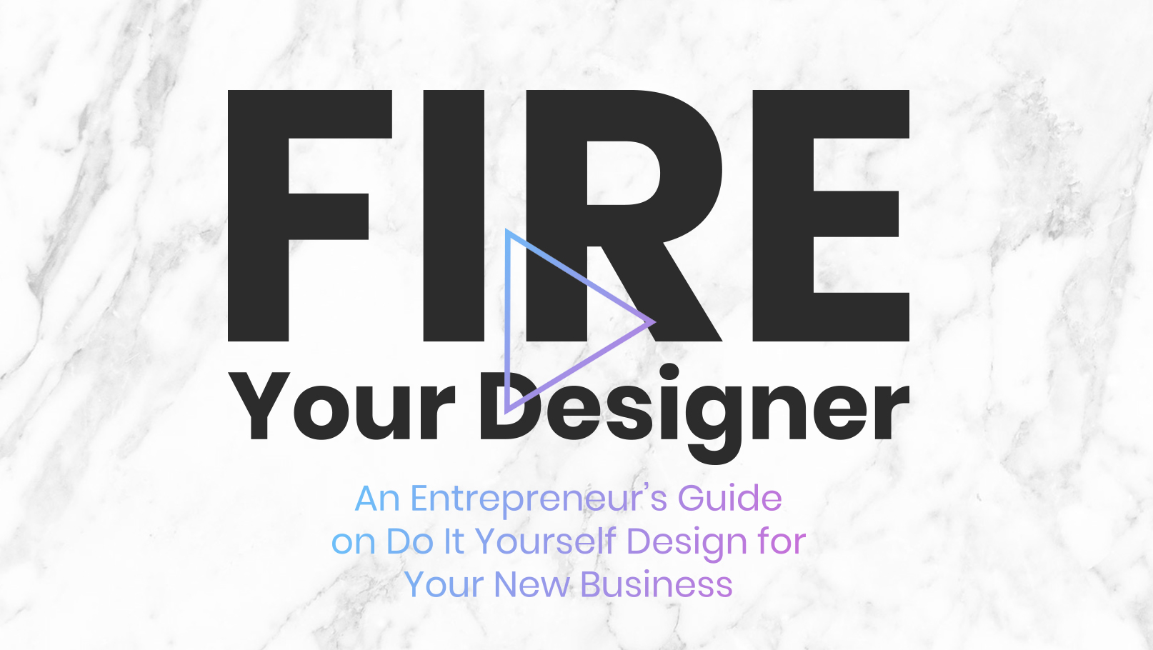 Fire your designer online branding and website design course a new professional logo live one page website in a day solutioingenieria Gallery