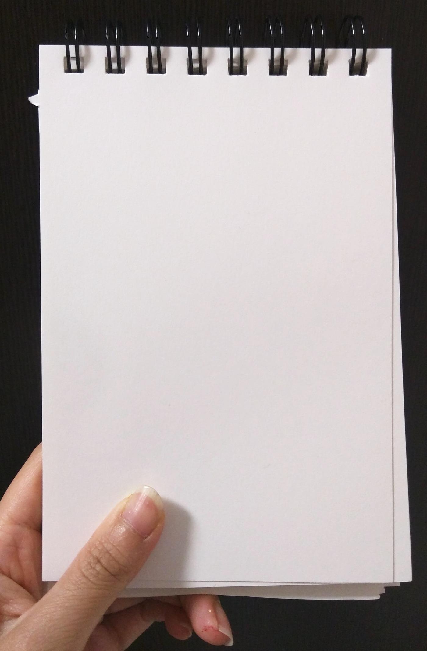folha em branco