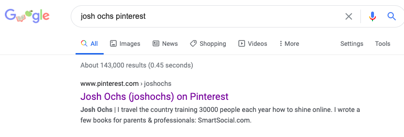 pinterest google