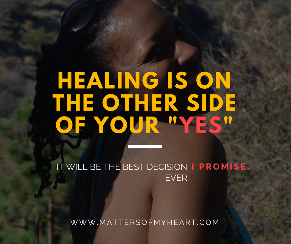 Learn how to heal the right way!