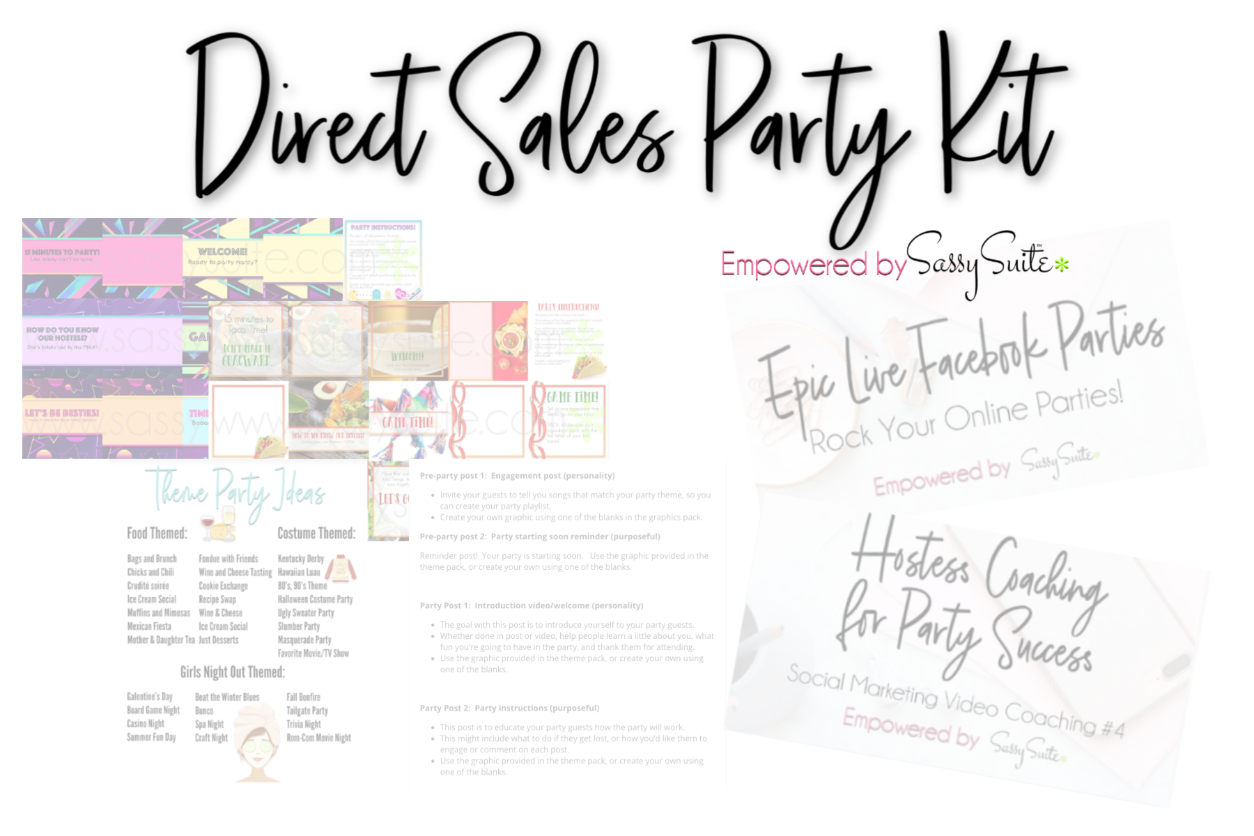 The Ultimate Direct Sales Party Kit