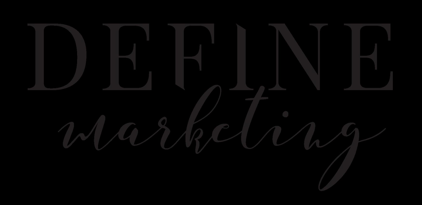 Define Marketing by Deirdre Andrews