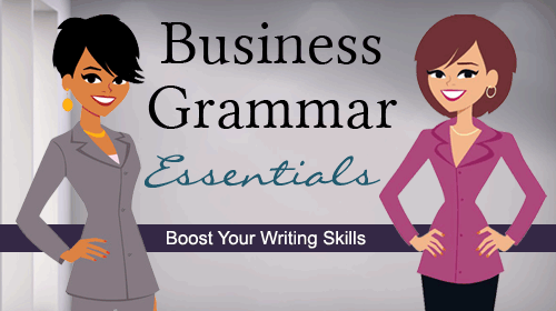 business grammar essentials online course