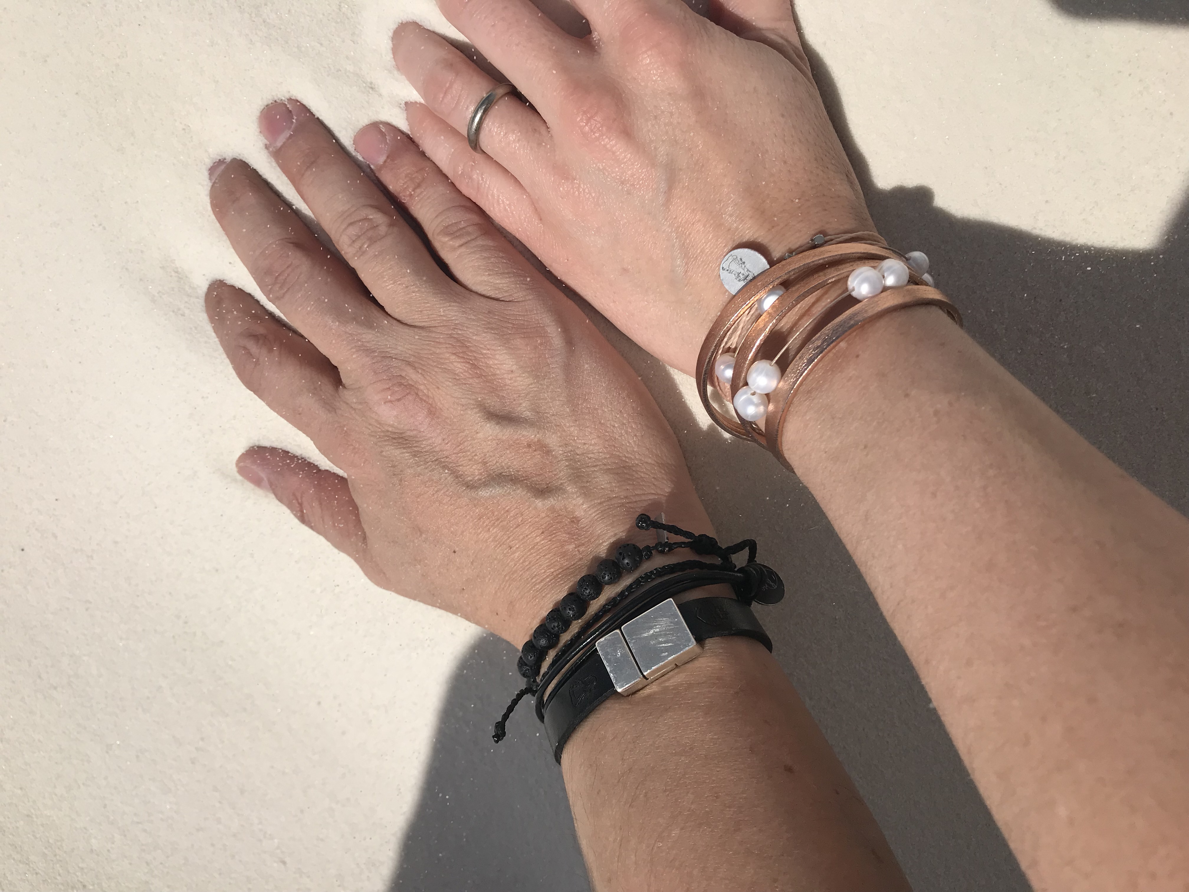 Coordinate Bracelets For Sharing With Life Best Friends! Celebrate Love!