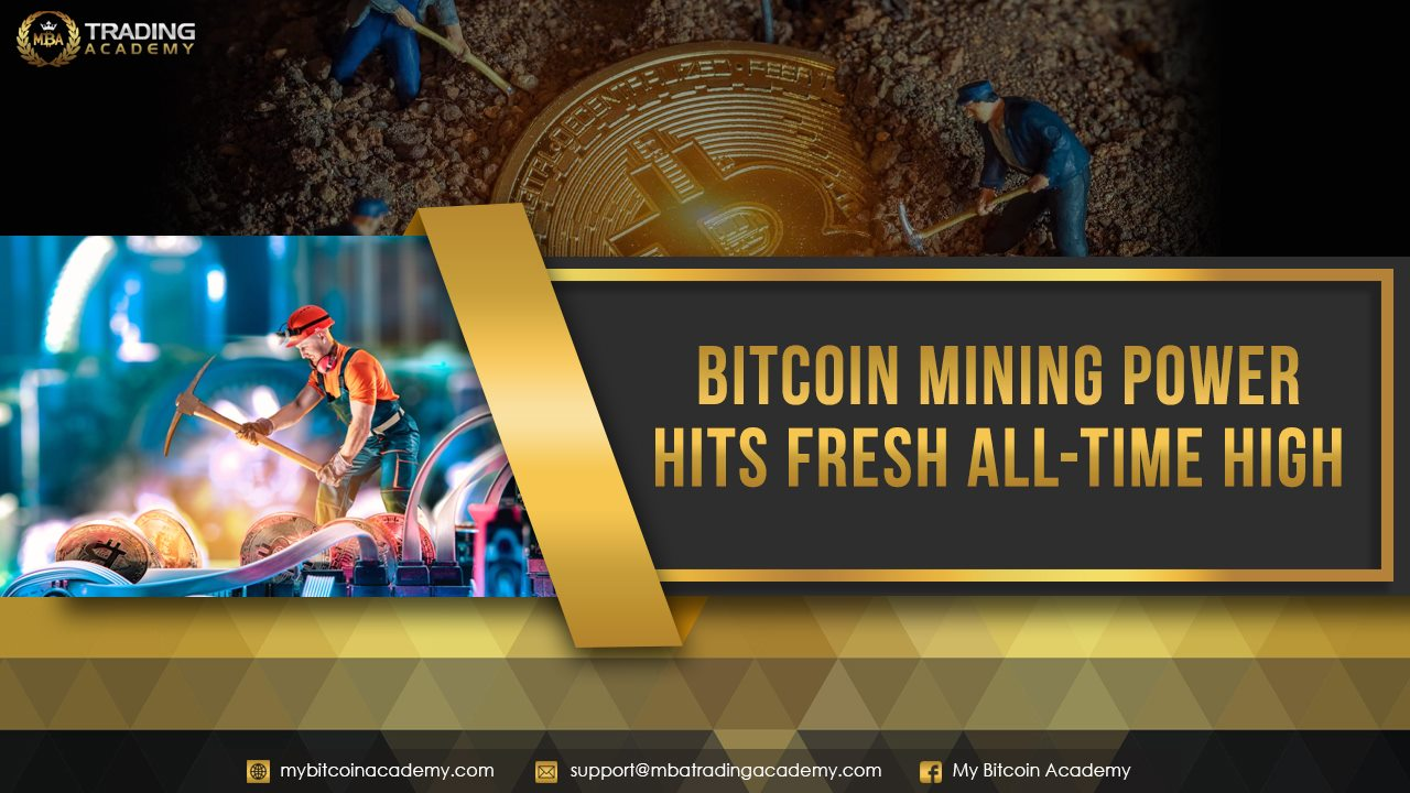 Bitcoin Mining Power Hits Fresh All-Time High