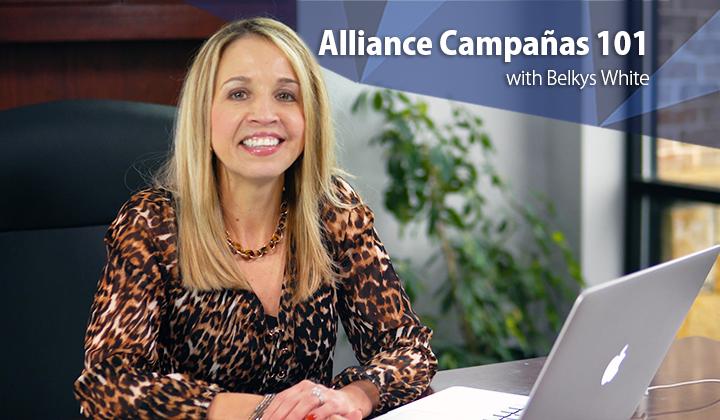 Alliance Campañas 101
