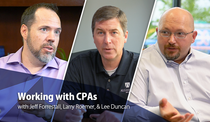 Working with CPAs