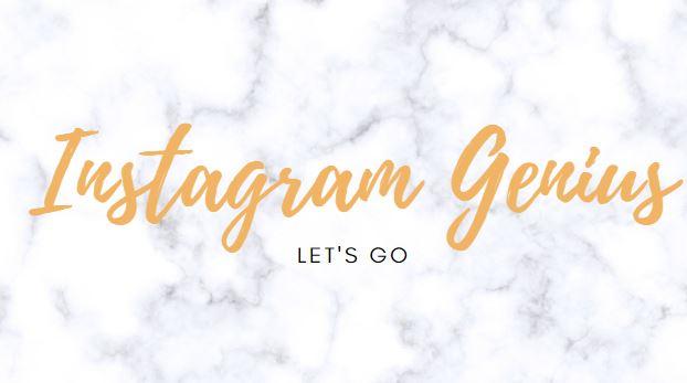 Instagram Genius