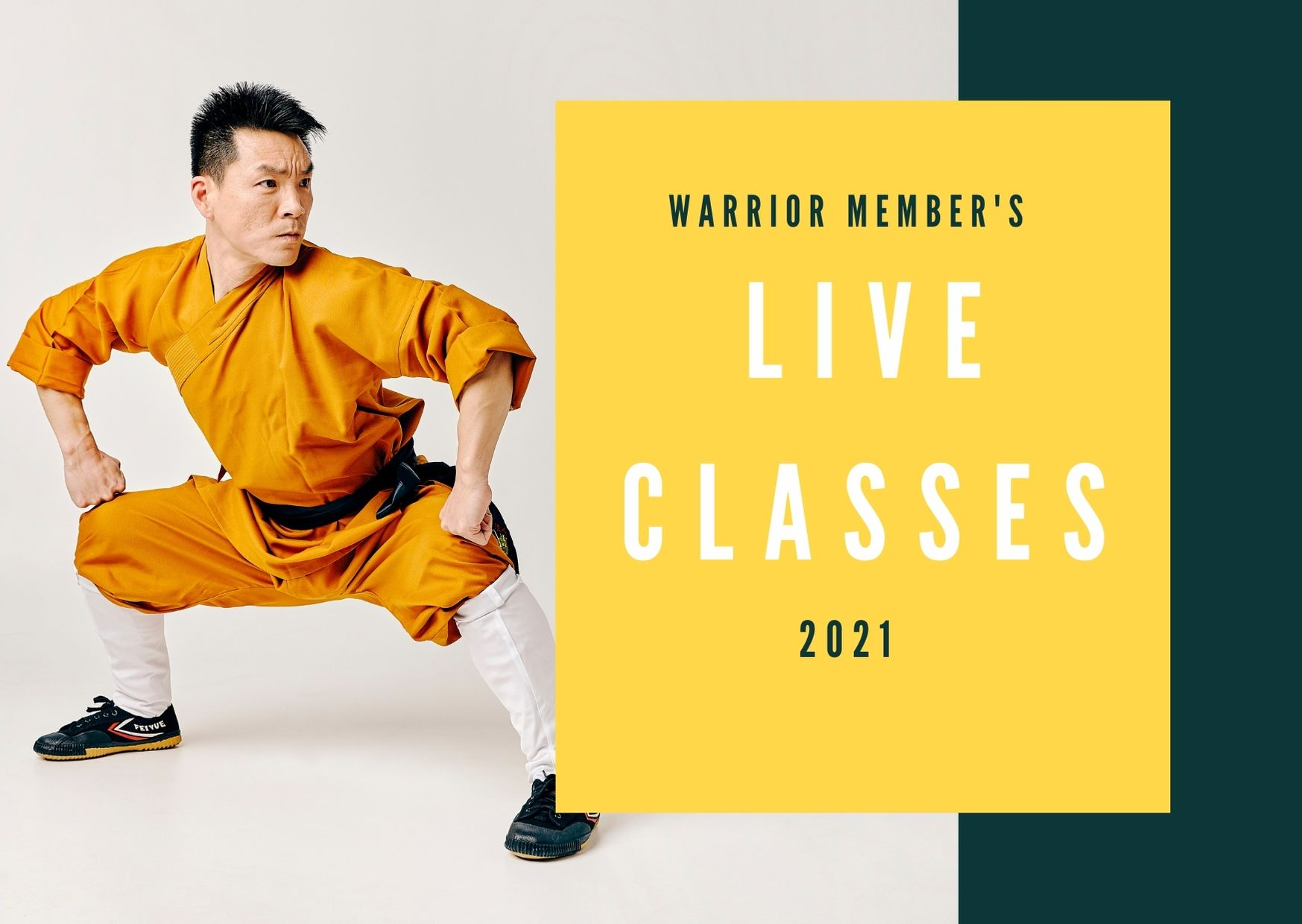 2021 Warrior Member's Interactive Live Classes