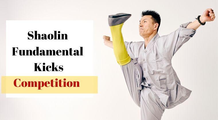 Shaolin Fundamental Kicks Competition
