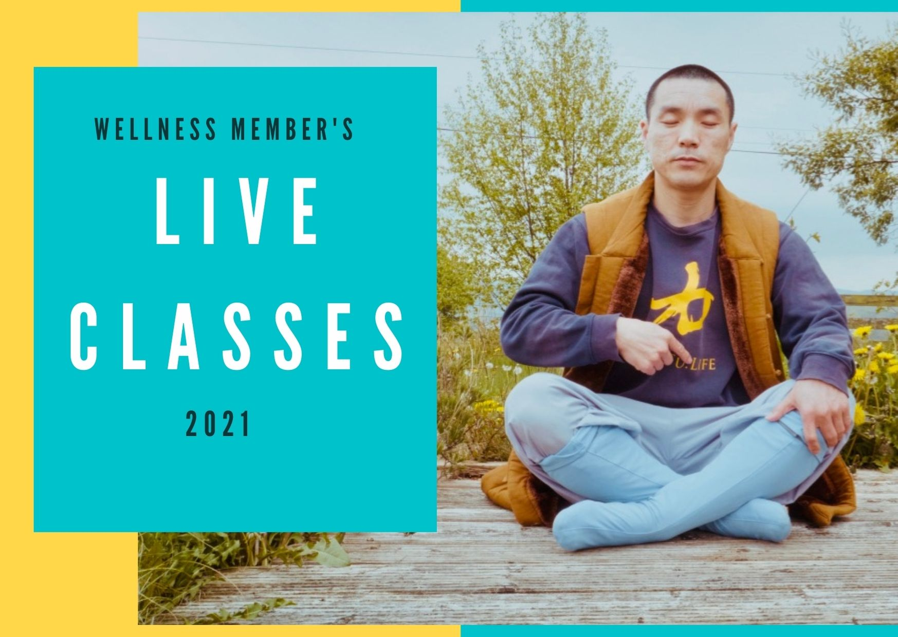 2021 Wellness Member's Interactive Live Classes