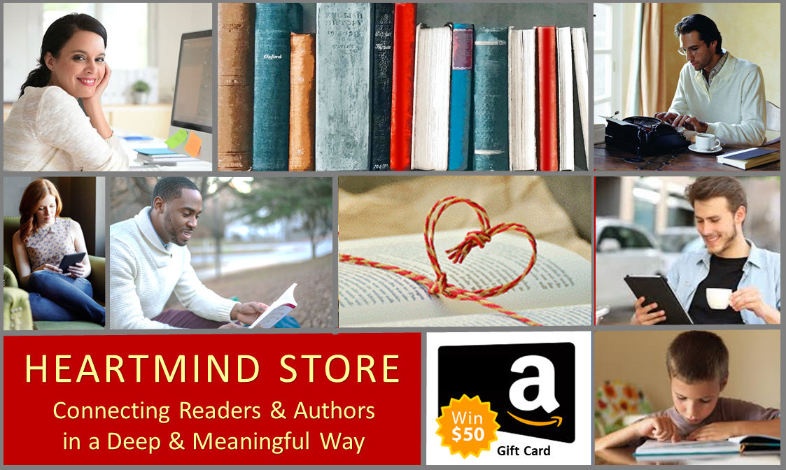 You & Your Book Featured in the HEARTMIND STORE & Announced to Thousands of Subscribers