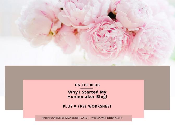 Faithful Homemaker Living !