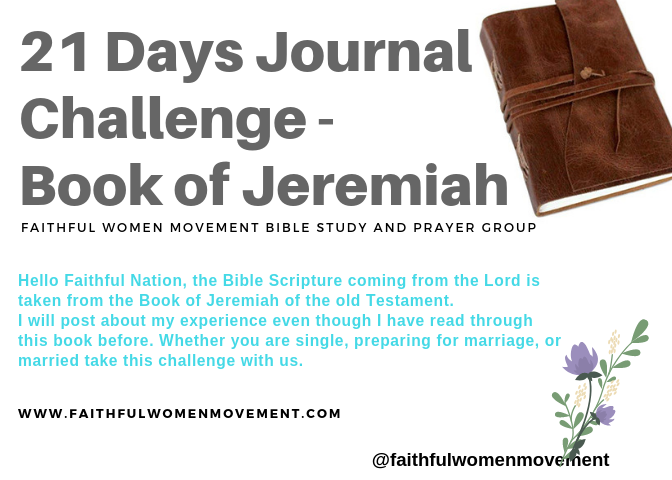 21 Days Journal Challenge and Bible Studies (2019)