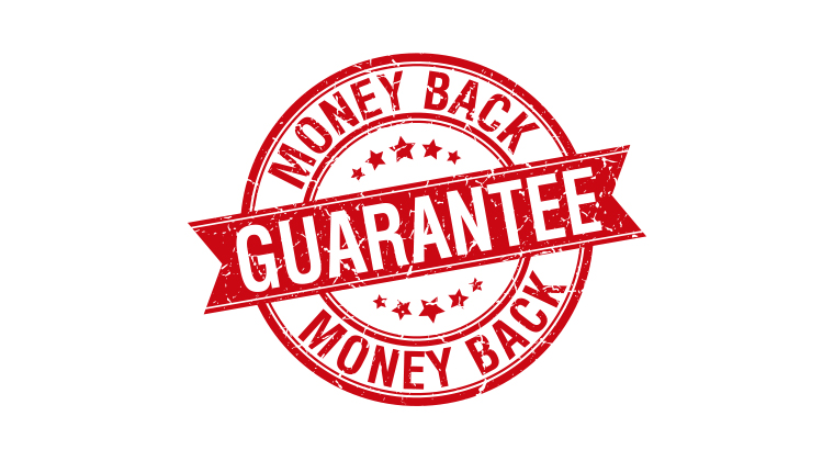 Money Back Guarantee!