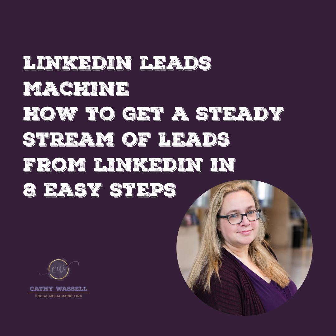 LinkedIn Leads Machine : how to get a steady stream of leads from LinkedIn in 8 easy steps