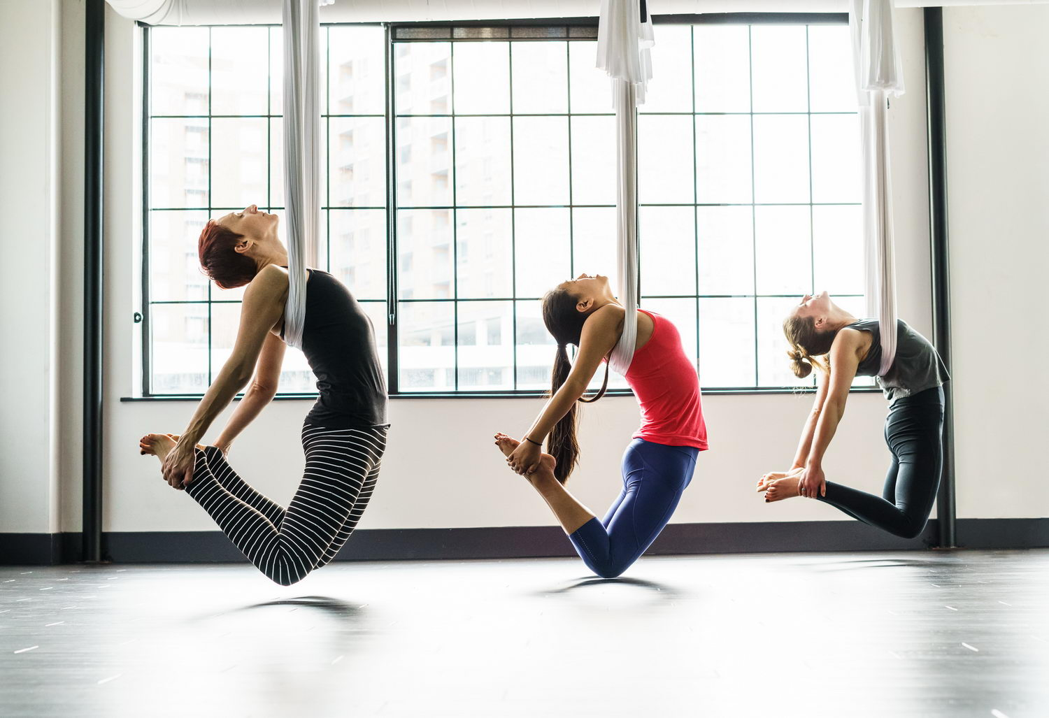 Why Aerial Yoga is easier to learn than floor yoga!