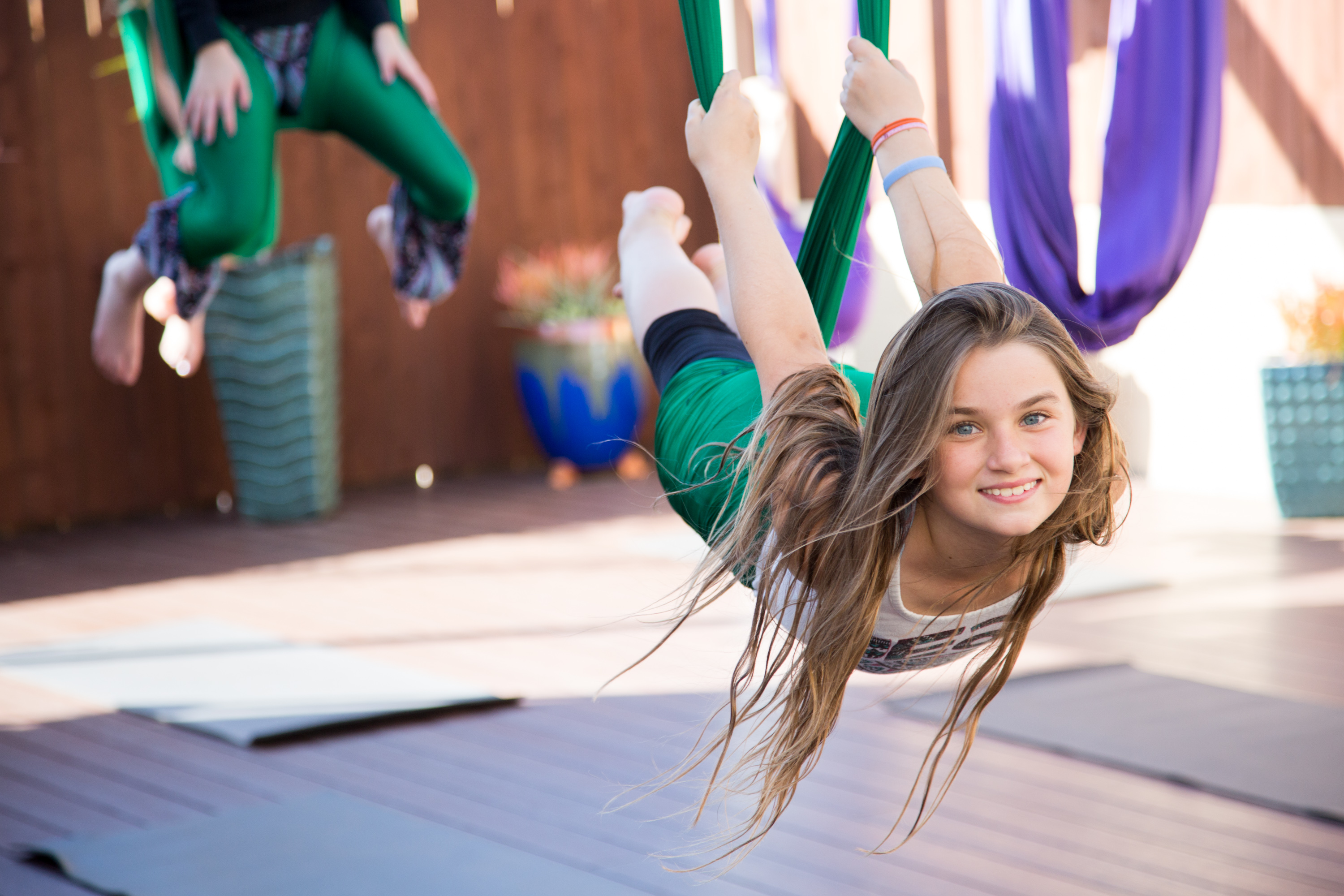 Aerial Yoga's Secret Benefit you need to know about!