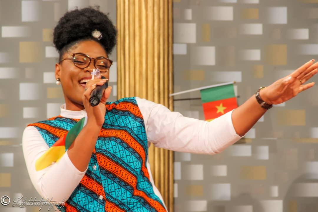 by Sandrine Nnanga (Professional singer / song writer)