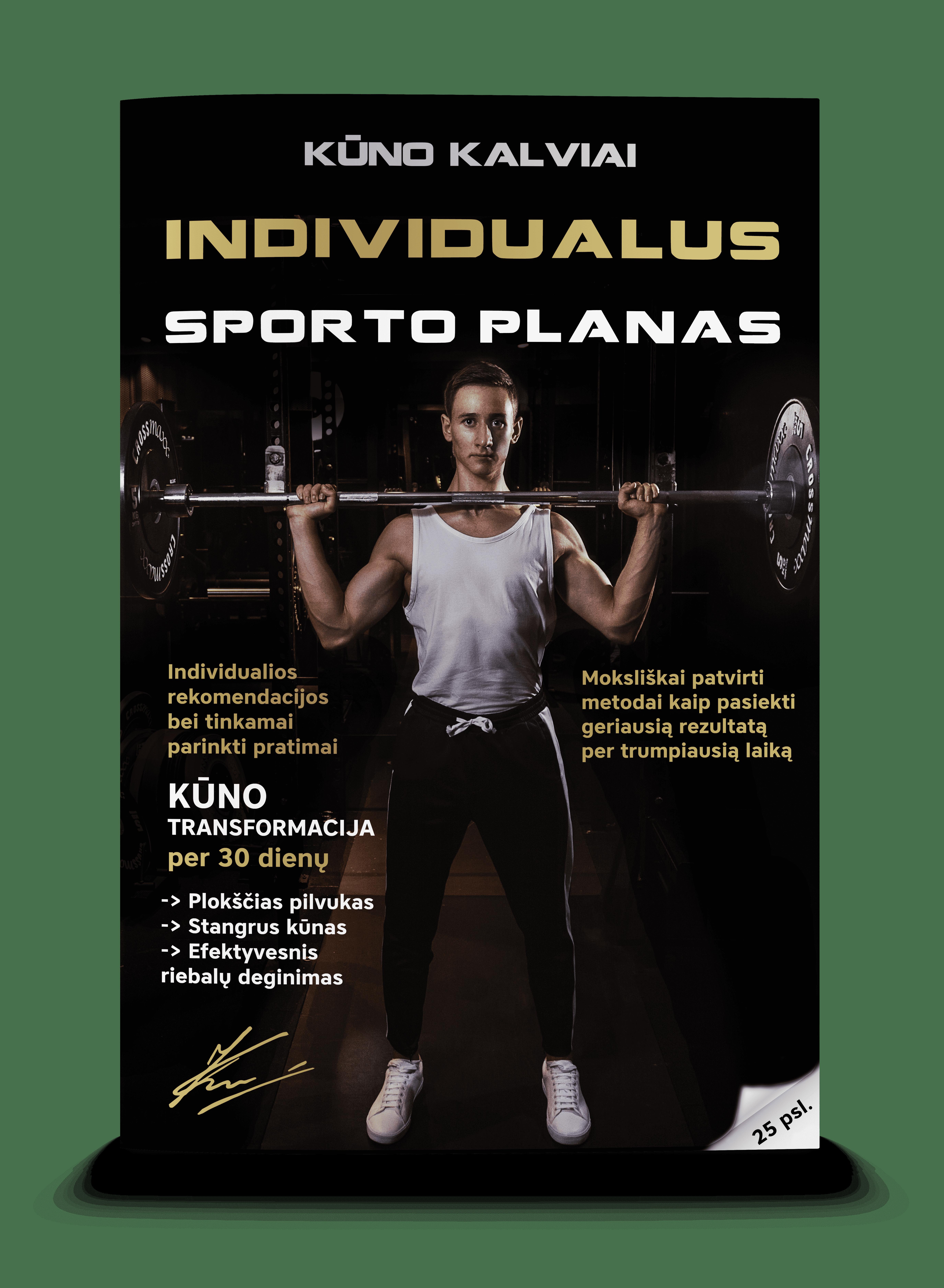 Individualus sporto planas