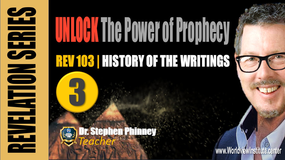 REV 103 | History, The Writings