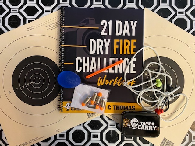 21 Day Dry Fire Challenge Training Kit