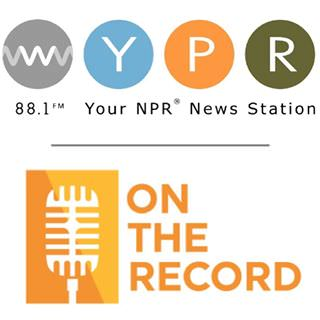 WYPR 88.1 FM. On the Record with Sheilah Kast