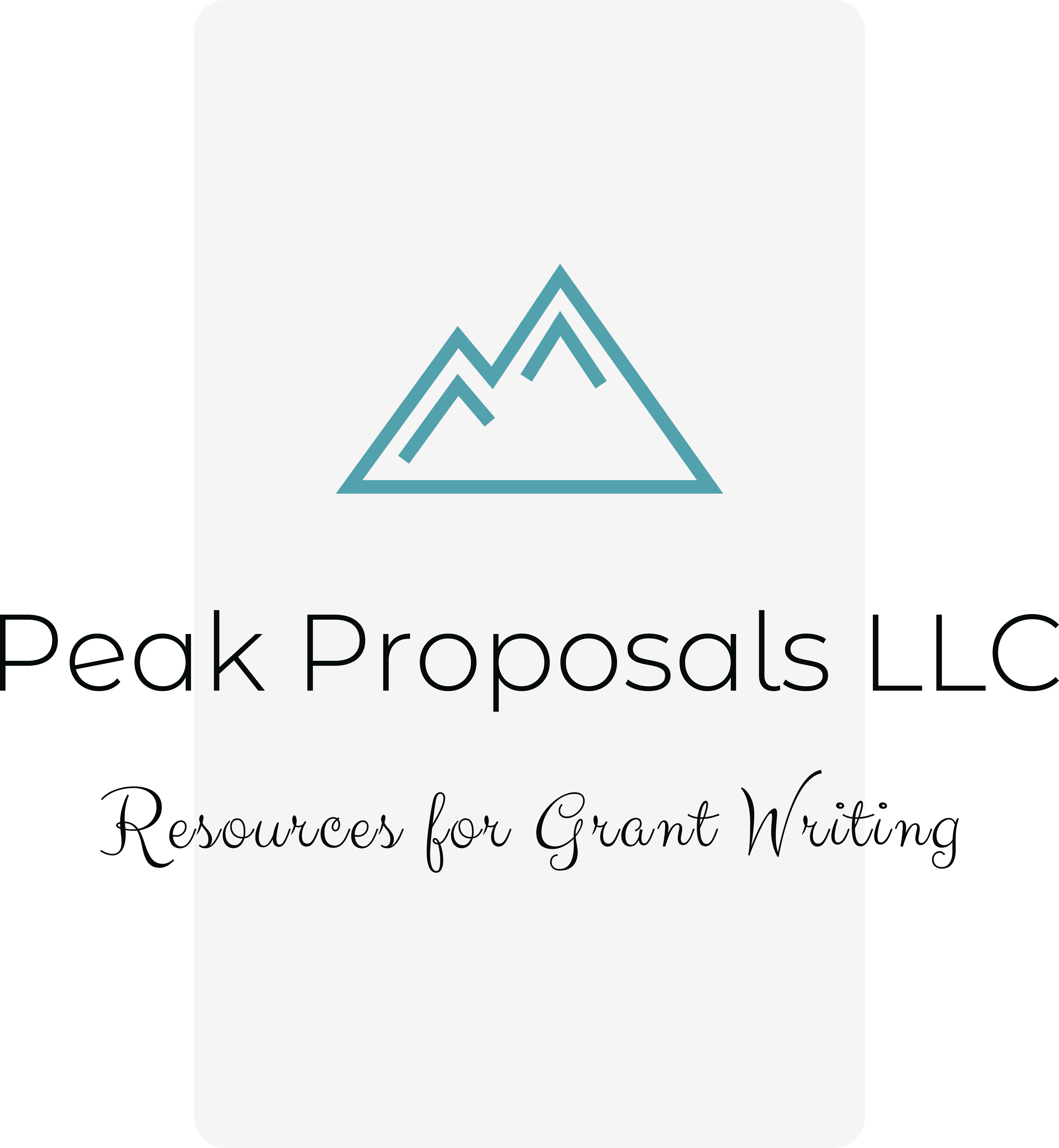 Peak Proposals