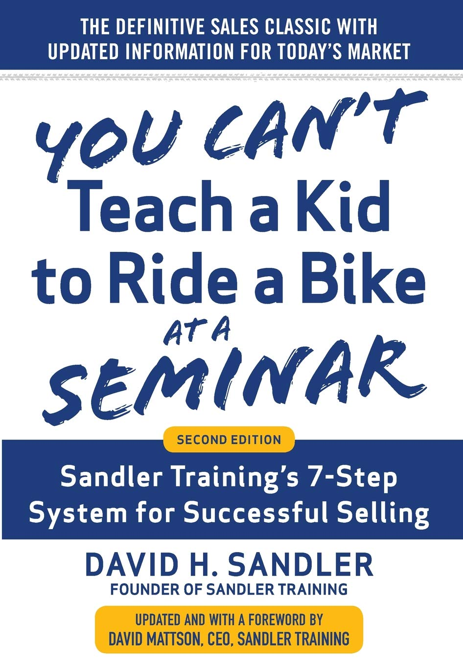 Sandler Training's 7-Step System for Successful Selling